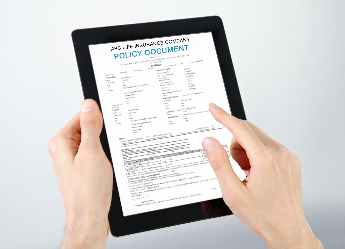 e-insurance-account-opening-form